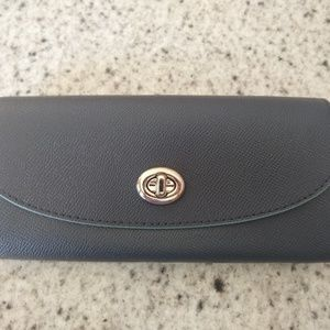 BNWT COACH Slim Envelope Wallet with Charms F29407